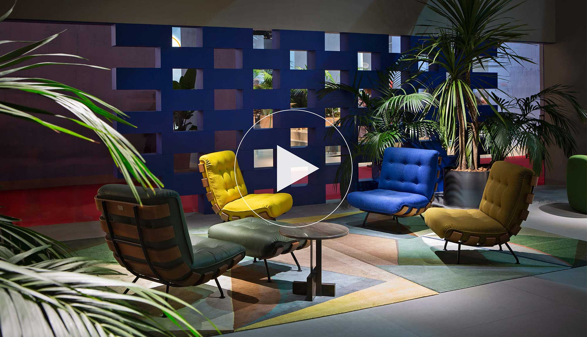 International Furniture Fair, Milan 2019 | Tacchini